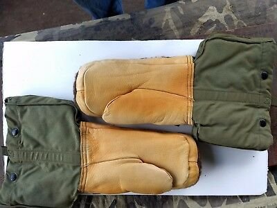 b3023ecb45e US WW2-KOREA EXTREME COLD WEATHER ARCTIC MITTENS 10 th. MOUNTAIN SKI TROOPS