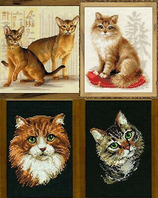 RIOLIS - Cats - Counted Cross Stitch Kits