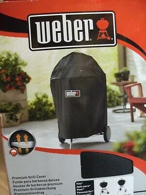 Weber 7143 Premium Barbecue Cover - Fits 57cm Charcoal Barbecues