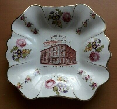 MIRFIELD INDUSTRIAL CO-OPERATIVE SOCIETY LTD. 50th Jubilee Dish / Bowl 1871-1921