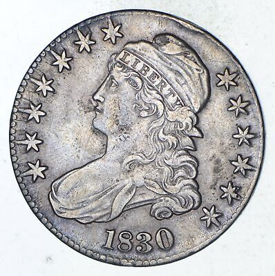 1830 Capped Bust Half Dollar - Circulated *9288