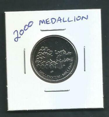 Canada - 25 Cents - 2000 - Medallion - BU PL from Set - Combined Shipping NO TAX