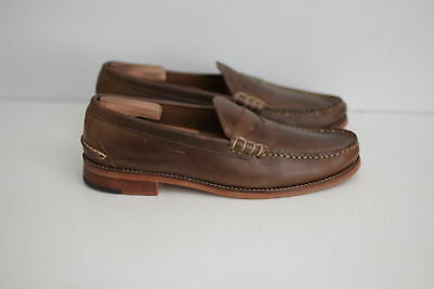 e929e2d6cf0 NEW Oak Street Bootmakers Beefroll Penny Loafer - Natural Brown - 11.5 D  (O37)