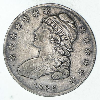 1836 Capped Bust Half Dollar - Circulated *9308