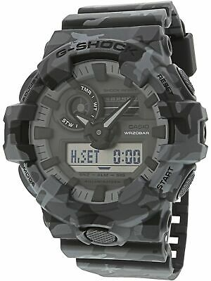 Casio Men's G-Shock GA700CM-8A Matte Grey Rubber Japanese Quartz Sport Watch
