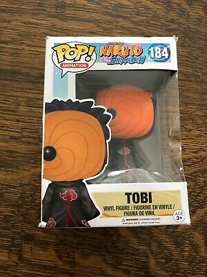 POP! Animation Shonen Jump Naruto Shippuden #184 TOBI Vinyl Figure by Funko