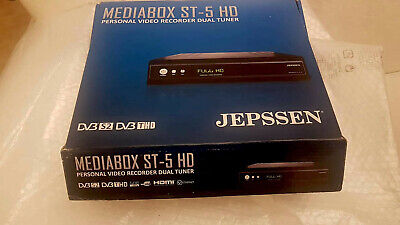Jepssen Decoder Mediabox ST-5 HD - Video Recorder Digisat - TV TIVU' SAT