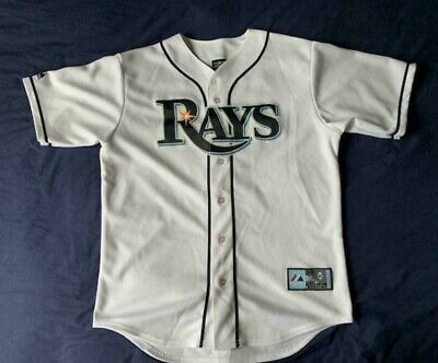 brand new f090d 52ea0 MEN'S MAJESTIC MLB Tampa Bay Rays jersey David Price #14 size M