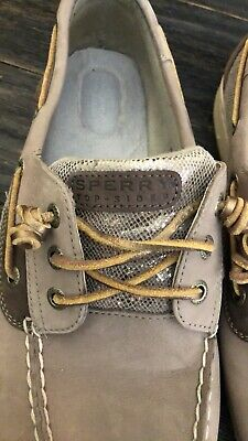 9e2f76657336c WOMENS IVYFISH SPERRY Top Sider Boat Shoe Gold Nude Tan Size 12