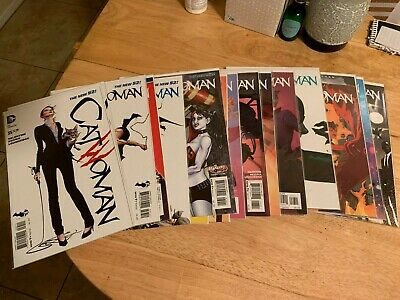 Catwoman 35-52 + Annual 2 New 52 DC Comics Tieri Valentine Brown Loughridge