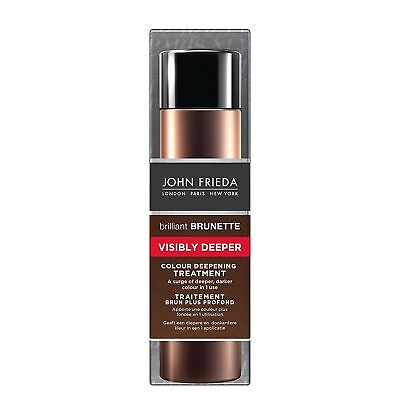 John Frieda Brilliant Brunette Visibly Deeper Colour Deepening Treatment 150 ml