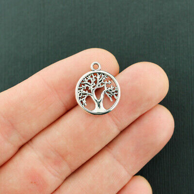 Celtic Tree Of Life 24mm Wholesale Antiqued Silver Plated Charms 8//15//30PCs