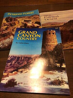 Petrified Forest, Grand Canyon Country, This Painted Desert - Book Lot Souvenir