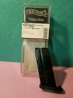 Walther PPS 9mm  6 Round OEM Steel Magazine, Black - WAF67000 (NEW)(OPENED)