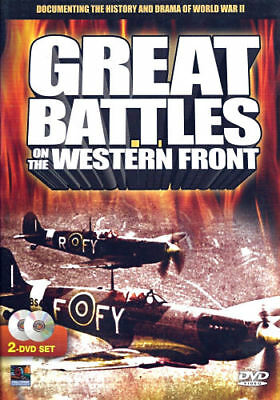Great Battles on the Western Front (DVD, 2006, 2-Disc Set) - Brand New