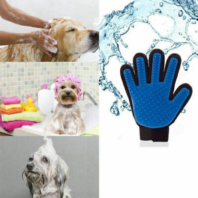 Right Hand Glove Hair Remover For Cat Dog Pet Magic Shedding Brush touch feeelin