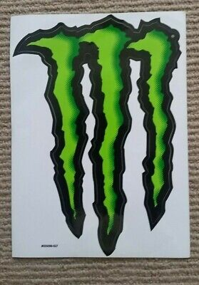 Large Monster Energy Sticker - team  - surfing