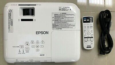 Epson EB-S31 Portable Multimedia Projectors - Very Good Condition