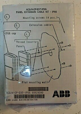 New Abb Acs/H-Cp-Ext-Ip66 Panel Extension Cable Kit