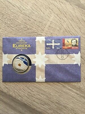 2004, 150th Anniversary Of The Eureka Stockade $5 Coin PNC