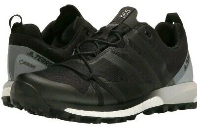new products d2a6f 868c0 Adidas Terrex Agravic GTX Gore-Tex Trail Running Shoes Black Men s Size 10