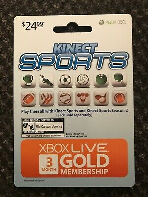 Microsoft 3 Month Xbox Live Gold Membership Subscription.  Email Delivery Option