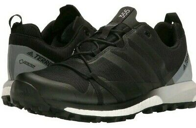 more photos 4c5e0 b6982 Adidas Terrex Agravic GTX Gore-Tex Trail Running Shoes Black Mens Size 9.5