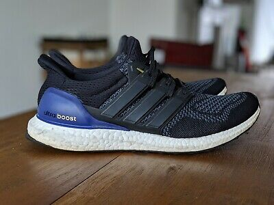 428738a8983fb Preowned Adidas Ultra Boost 1.0 OG Black Purple Gold Size 10.5 B27171