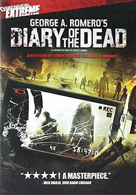 Diary of the Dead (DVD, 2010, Bilingual cover: English/French) - Brand New