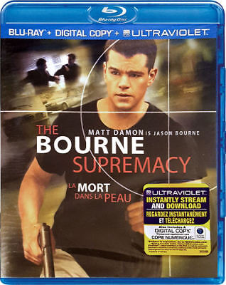 The Bourne Supremacy (Blu-ray, 2013, Bilingual cover: English/Frenc  - Brand New