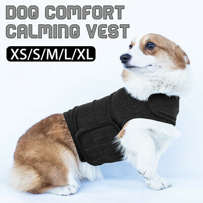 Dog Comfort Calming Vest Thunder Anxiety Calm Emotional Appeasing Clothes Jacket
