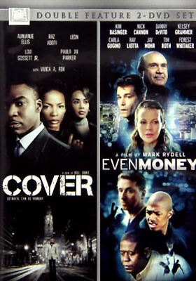 Cover / Even Money (DVD, 2014, 2-Disc Set) Double Feature - Brand New