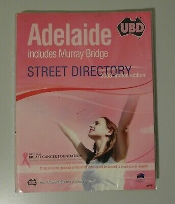 3x Adelaide Street Directory UBD 2008 Limited Edition, Gregory's 2009 & UBD 2010
