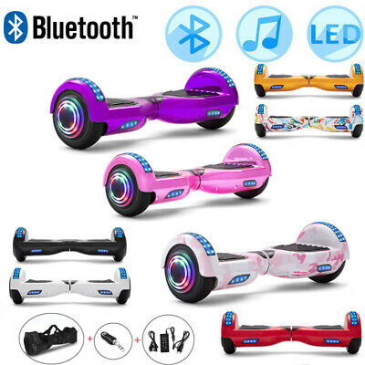"""Hoverboard 6.5"""" Self Balancing Scooter Electric Scooters Balance Board LED+Bag"""