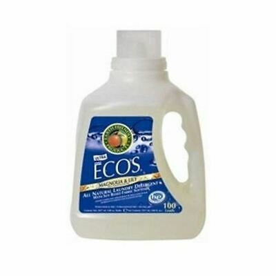 Earth Friendly Baby Ecos Laundry Liquid - Magnolia & Lily [3Ltr] (8 Pack)
