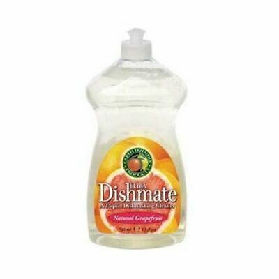 Earth Friendly Baby Dishmate Washing Up Liquid - Grapefruit [750ml] (7 Pack)