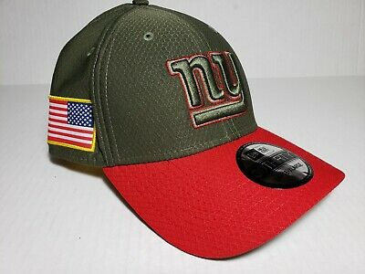5d3542c5219 New York Giants New Era 39THIRTY NFL Salute To Service Flex Cap Hat Size  Large