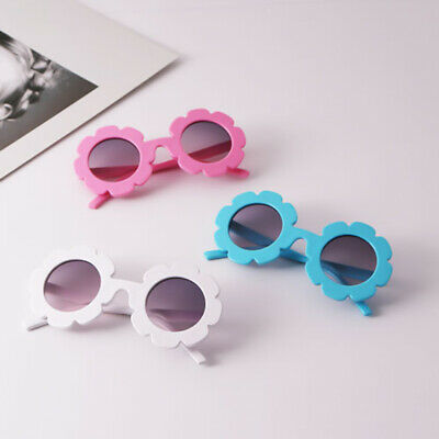 Anti-UV Sunglasses Kids Boys Baby Girls Sun Flower Goggle Glasses Eyewear