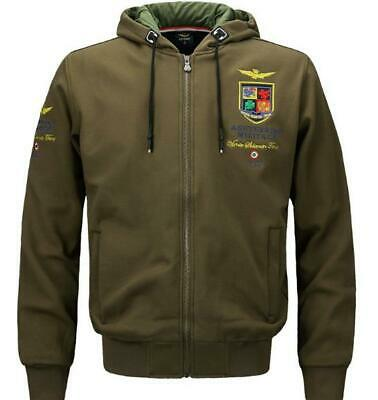 Spring new air force No. 1 men's cotton sweater jacket sports casual hooded coat