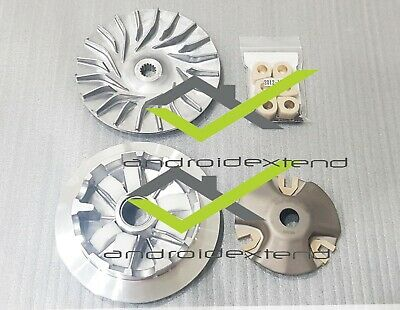 Yamaha N-Max 155 Dr Pulley Variator + Free Rollers + Sliding Pieces + Fan