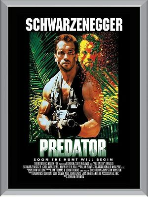 Predator Movie Arnold Schwarzenegger A1 To A4 Size Poster Prints Epress post