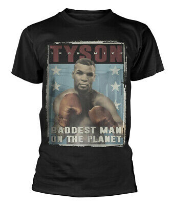 Mike Tyson 'Vintage Poster' T-Shirt - NEW & OFFICIAL