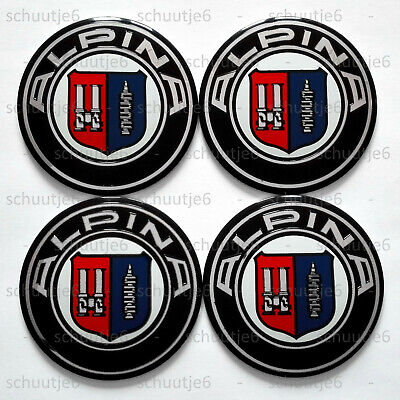 4x 56mm VW Volkswagen Car Wheel Center Hub Cap Caps Emblem Badge Decal Sticker