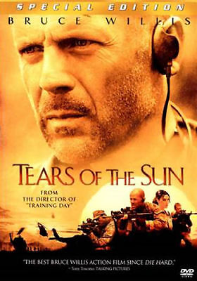 Tears of the Sun (DVD, 2003, Special Edition) - Acceptable