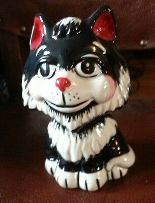 Lorna Bailey TEX the cat Figurine - Excellent Condition FREE P&P  #