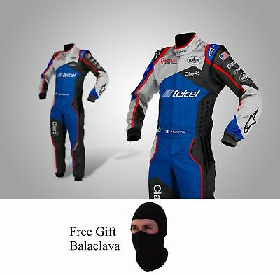 TELCEL Go Kart Race Suit CIK FIA Level 2 Approved with free gift Gloves