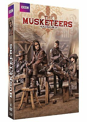 COFFRET DVD THE MUSKETEERS SAISON 2 Neuf Sous Blister