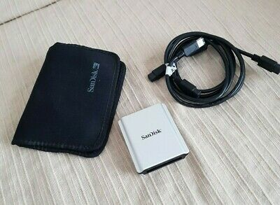 SANDISK EXTREME COMPACTFLASH FIREWIRE Card Reader with pouch
