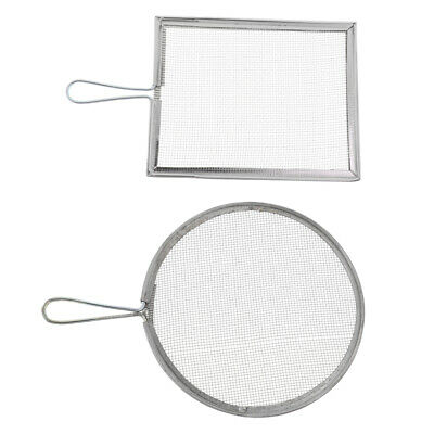 2x Ceramic Glaze Filtering Tools Mesh Strainer Filter Sieve Pottery Crafts