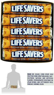 Life Savers Butter Rum Hard Candy Butter Rum Flavored 1.14 ounce 20 Single Packs